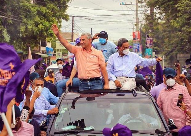 El candidato presidencial del Partido de la liberación Dominicana (PLD), Gonzalo Castillo.