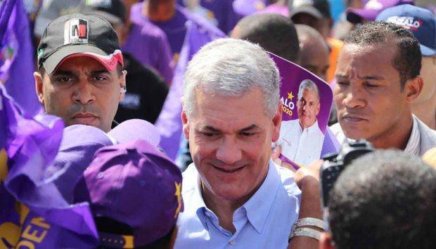candidato presidencial del Partido de la Liberación Dominicana (PLD), Gonzalo Castillo.