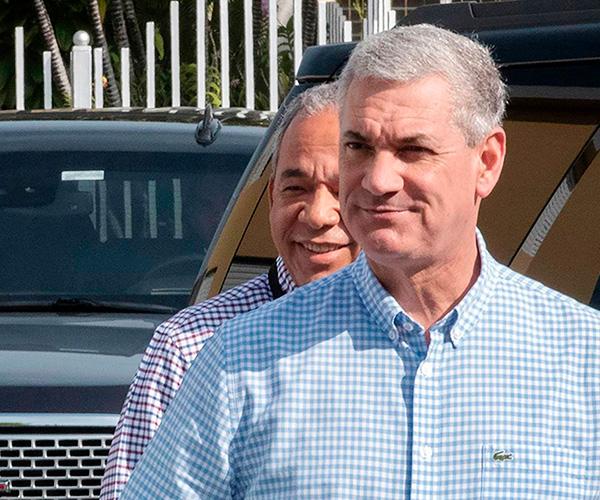Gonzalo Castillo, virtual ganador de las primarias abiertas del Partido de la Liberación Dominicana, PLD.