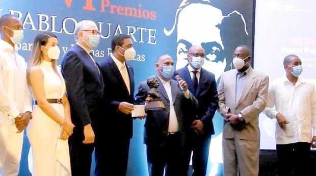 Fedodim entrega VI Premios Juan Pablo Duarte a la Transparencia y Buenas Prácticas Municipales 2020