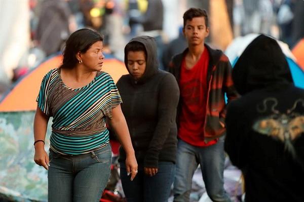 Caravana migrante tomará decisión de seguir o no travesía en 48 horas a EE. UU.