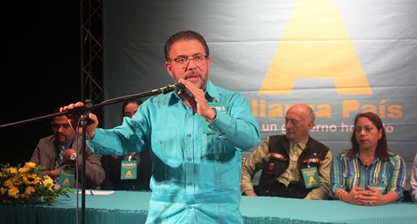 El presidente de Alianza País (AlPaís) Guillermo Moreno.