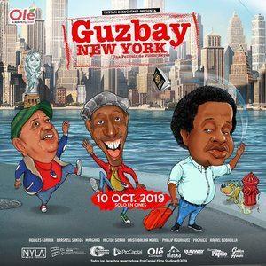 Afiche del largometraje 'Guzbay New York'.