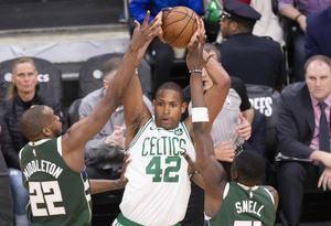 Fotografía de archivo de Al Horford en los Boston Celtics.