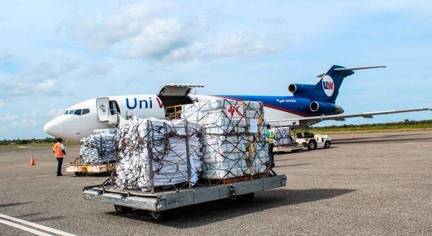 La Cruz Roja envía segundo cargamento de ayuda humanitaria a Haití