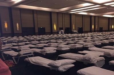 Hoteles del país utilizan centros de convenciones como refugios por Irma