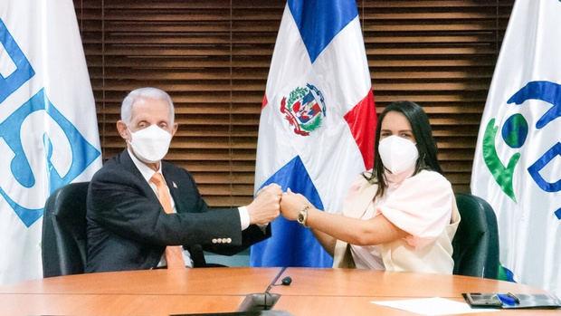 DIDA y TSS firman acuerdo para realizar trabajos en favor de los afiliados al Sistema Dominicano de Seguridad Social