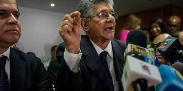 """Oposición venezolana apela al """"voto protesta"""" como lucha contra la abstención"""