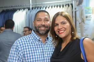 Henry Fernández y Jenny Contreras.