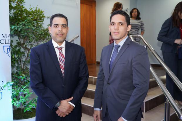 Henry Lugo y Fernando Joa.