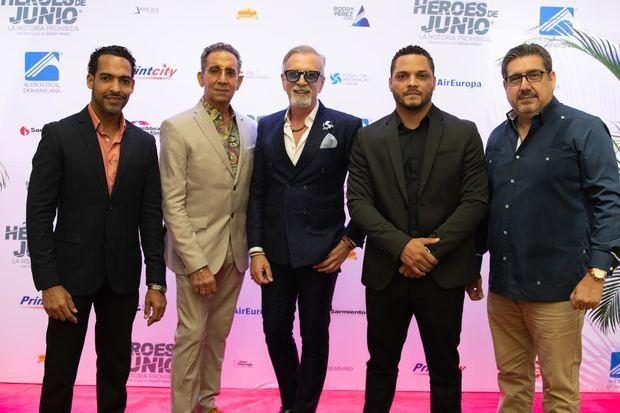 Fico Cruz, Pedro Oviedo, Maurizio Alberino, Roddy Perez, Fernando Pou.