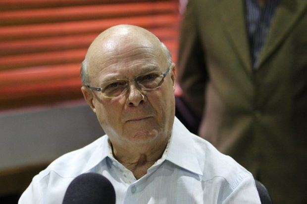 Precandidato presidencial por el Partido Revolucionario Moderno, PRM y expresidente de la República, Hipólito Mejía.