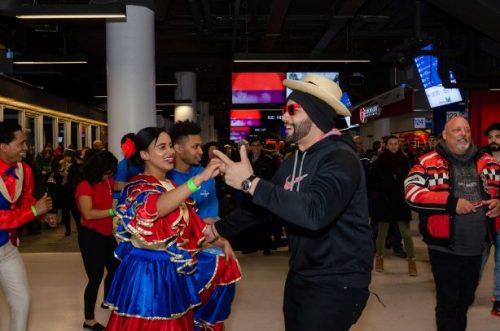 RD hace bailar a ritmo de merengue a los fans de los equipos de hockey en Montreal