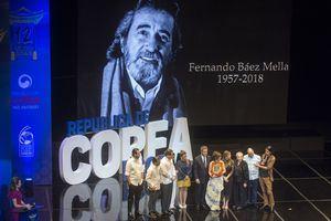 Homenaje a Fernando Báez.