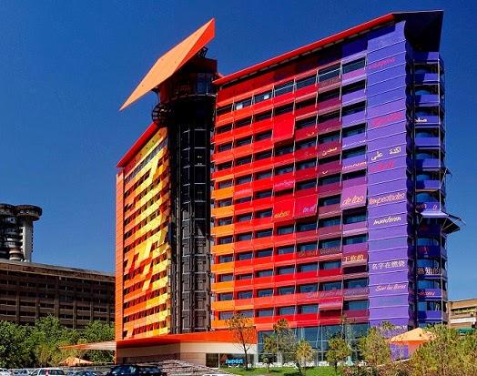 Hotel Puerta América de Madrid: cuatro premios Nobel de arquitectura