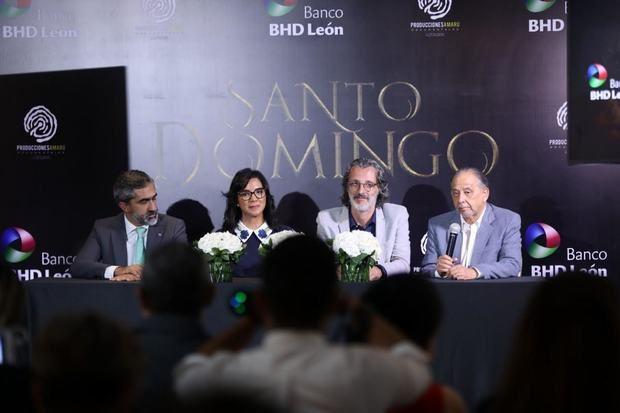 Gabriel Tieno, Josefina Navarro, José Pintor y Huchi Lora.