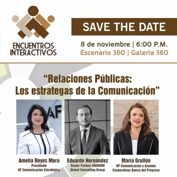 Décimo cuarta edición de Encuentros Interactivos será realizada este miércoles