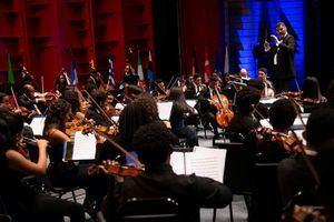 Orquesta Sinfónica Nacional Juvenil.
