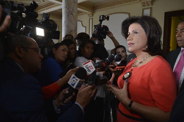 Margarita Cedeño llama reflexión ante casos de corrupción