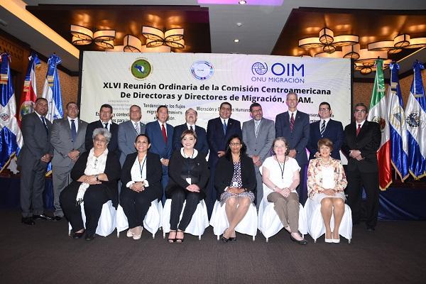 DGM encabeza reunión de directores de migración de Centroamérica