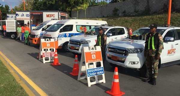 Ministerio de Obras Públicas refuerza la seguridad en vías terrestres con motivo del Día del Padre
