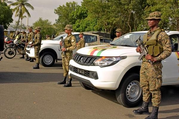 Ministerio de Defensa refuerza unidades de apoyo a la PN durante feriado extendido