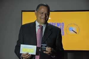 El reconocido periodista Fausto Rosario, director del prestigioso medio Acento.com.do.