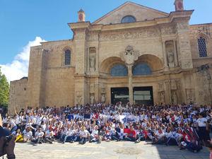 Misa de Envío de Peregrinos  de la Jornada Mundial de la Juventud.