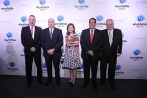 Thomas Kessler, Zanoni Selig, Raquel Pensa, Juan Enrique Álvarez y Freddy Schoepflin.