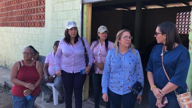 Plan Social interviene zona afectada por sequía con entrega de alimentos.