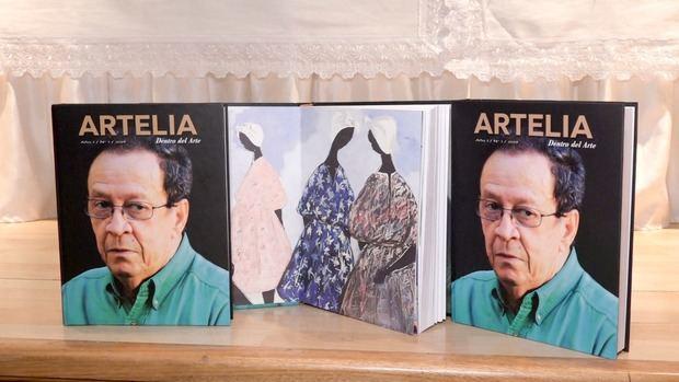 UASD presenta la revista Artelia en homenaje a Danilo De los Santos