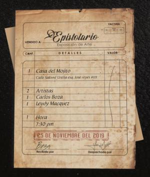"""Jóvenes talentos en Exposición """"El Epistolario"""" este lunes 25"""