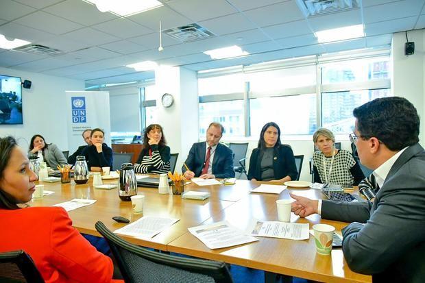 Encuentro con representantes de la sede del Programa de las Naciones Unidas (PNUD)