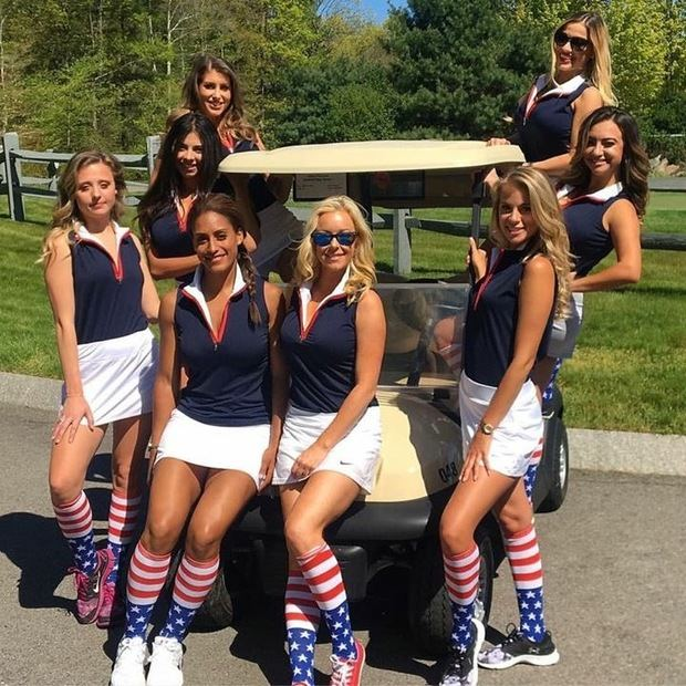 The Caddy Girls.