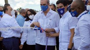 Presidente Abinader inaugura en Hato Mayor sistema de agua potable en beneficio de 6,500 comunitarios.