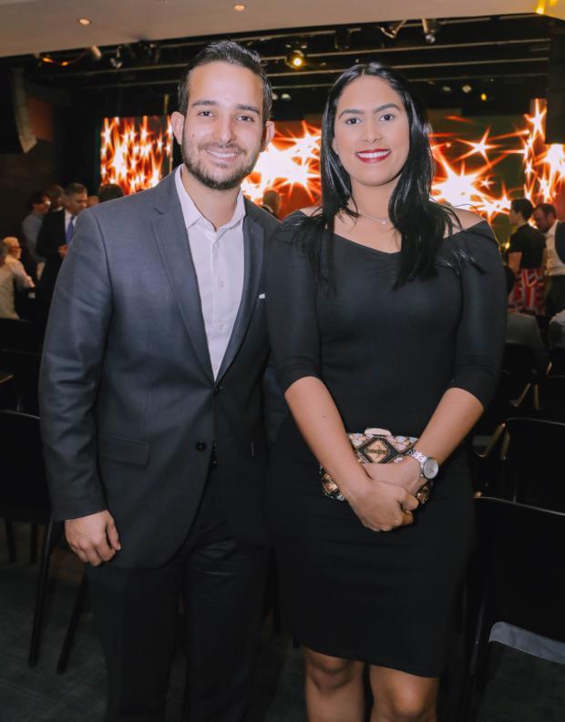 Guillermo Vázquez y Alexandra Durán