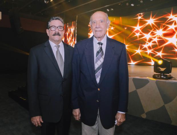 Carlos Objio y Horacio Álvarez