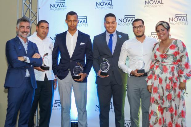 César Latrila, Félix Estévez, Pedro Fortuna, Kevin Polanco, Manuel Rodríguez y Yahaira Batista.