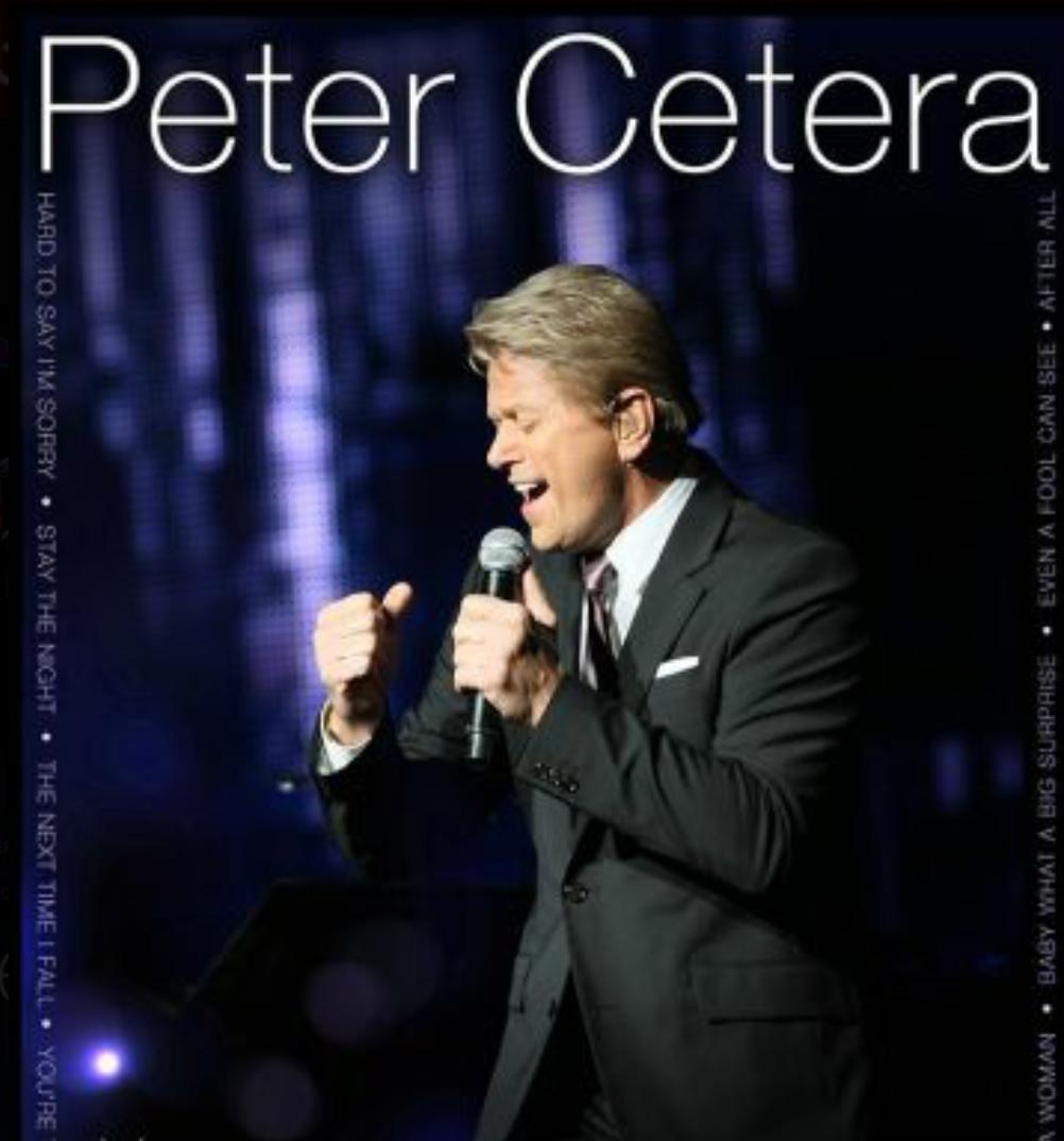 Anuncio del concierto en el Anfiteatro Puerto Plata de Peter Cetera impacta en el mundo del pop
