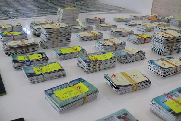 Migración decomisa carnés del PNRE y otros documentos alterados