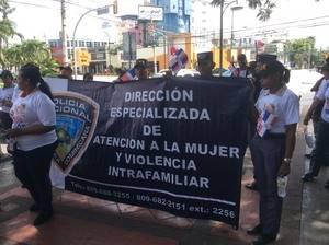 Marcha contra la violencia.