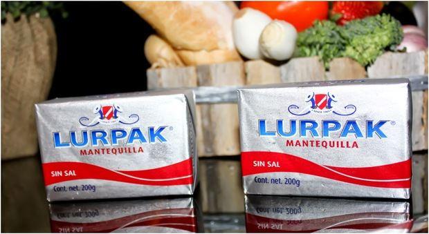Mantequilla Lurpak.