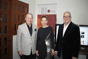 Eduardo Selman, María del Carmen Ossaye y Ángel Ricardo Rivera.