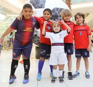 Luis Grullón, Daniel Malena, Raymi Guzmán, Diego Wiese y Marcos Wiese
