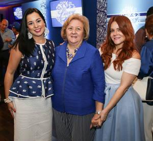 Sandy Pou de Fernandez, Matilde Dargam, Helen Andujar de Brache.
