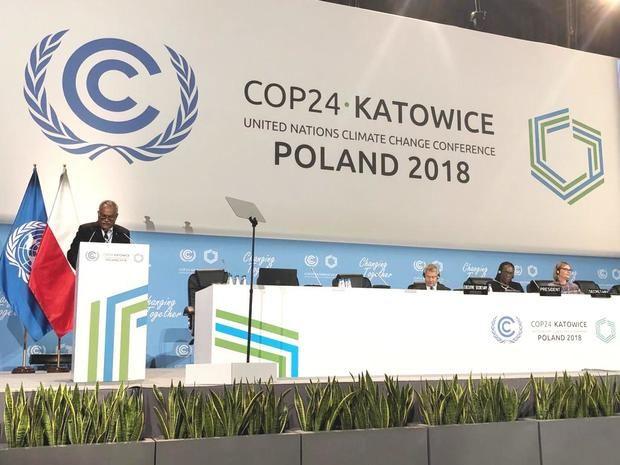 En la COP24, RD reclama asistencia a países para enfrentar daños derivados del cambio climático
