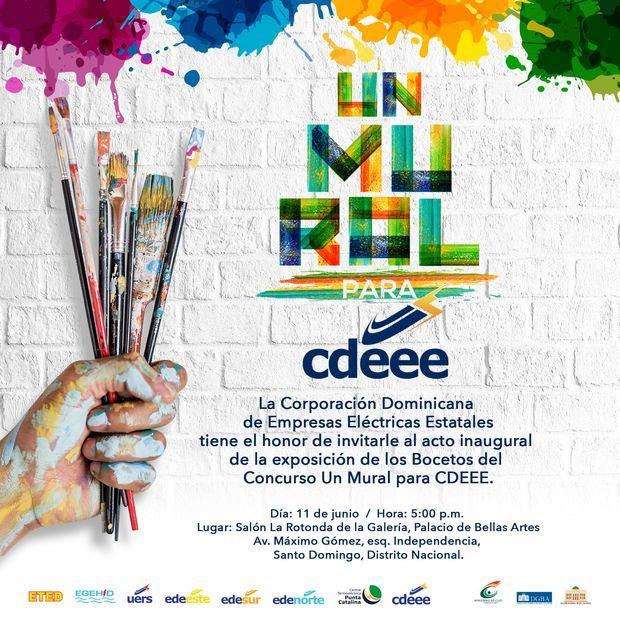 Exposición bocetos concurso Un Mural para la CDEEE