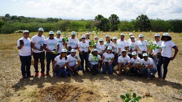ISM realiza jornada de reforestación en Santiago Rodríguez