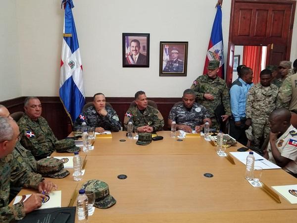 Cuerpos de seguridad RD y Haití coordinan acción binacional en conflictos en frontera