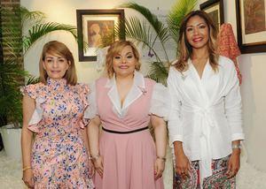 Gianna Batista, Rommy Grullón, Mery Laura Rodríguez.